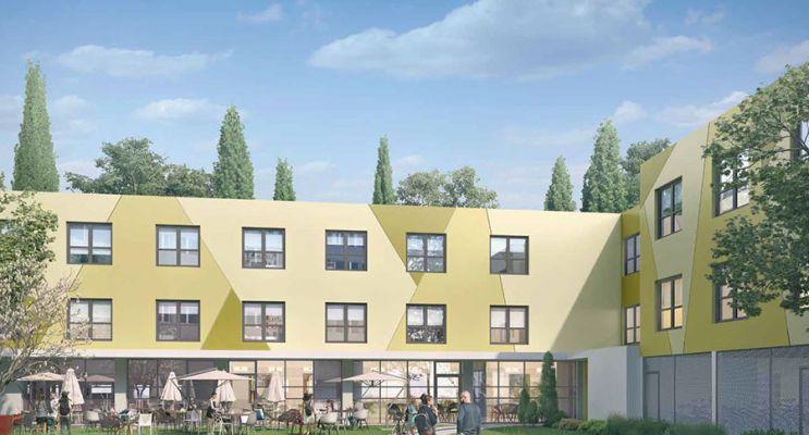 Photo du Résidence « Idéal Campus E » programme immobilier neuf à Montpellier