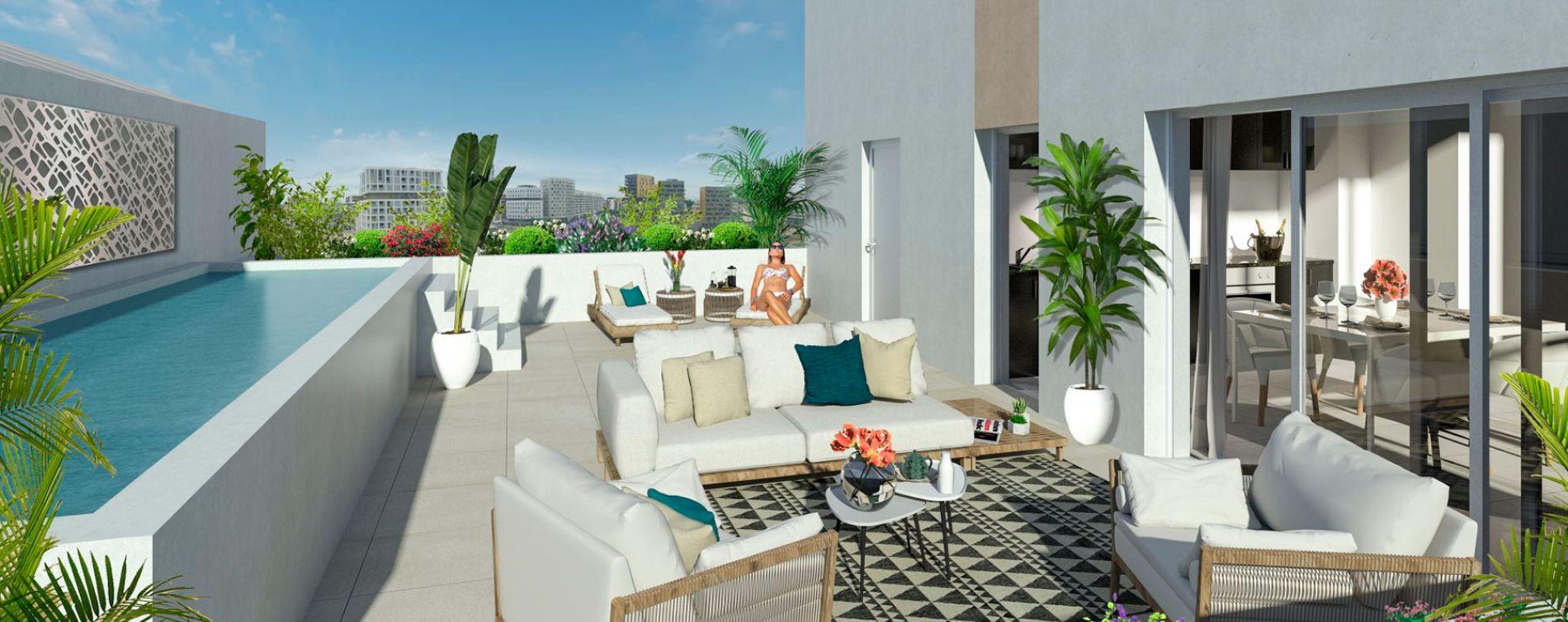Montpellier : programme immobilier neuve « Indüs » en Loi Pinel