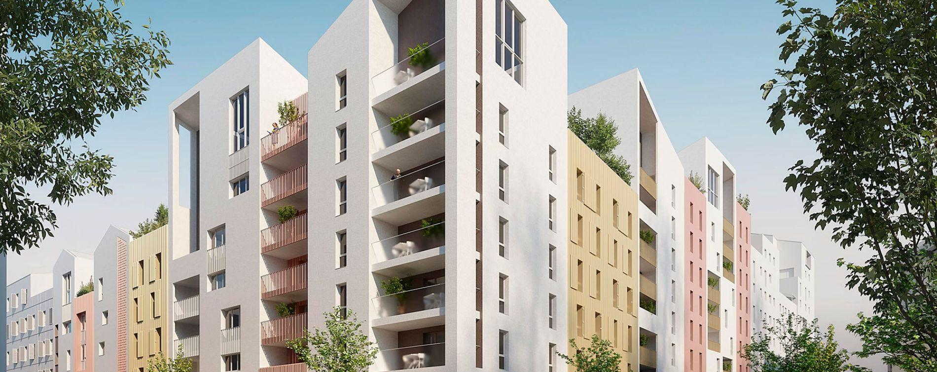 Montpellier : programme immobilier neuve « Indüs » en Loi Pinel (2)