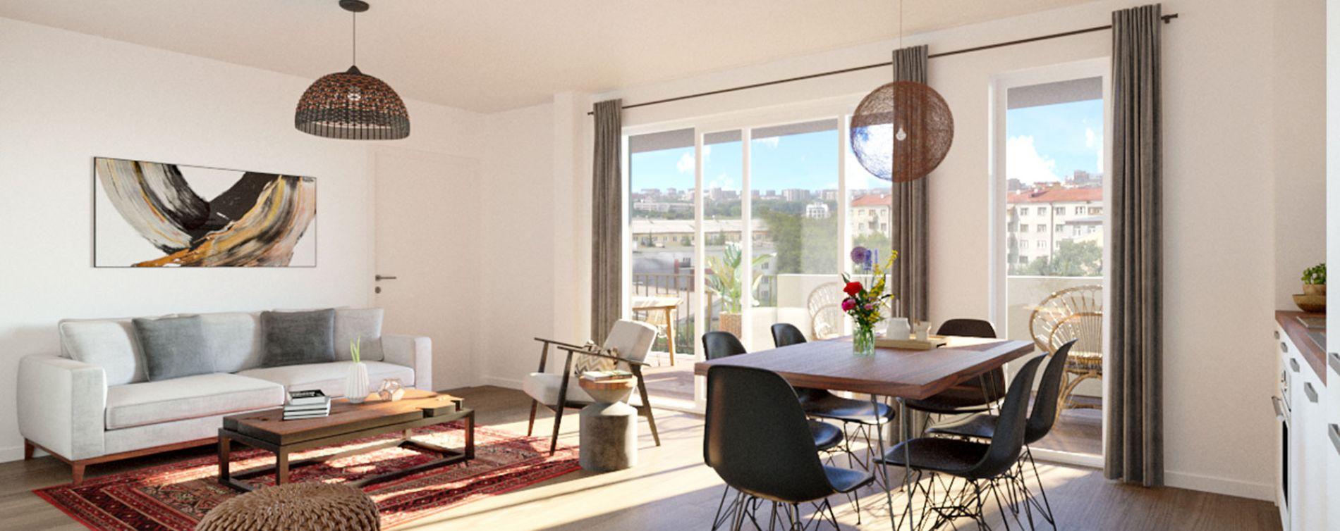 Montpellier : programme immobilier neuve « Intimity » en Loi Pinel (3)