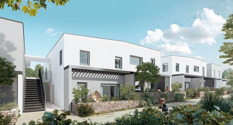 Résidence « Karma » programme immobilier neuf en Loi Pinel à Montpellier n°2