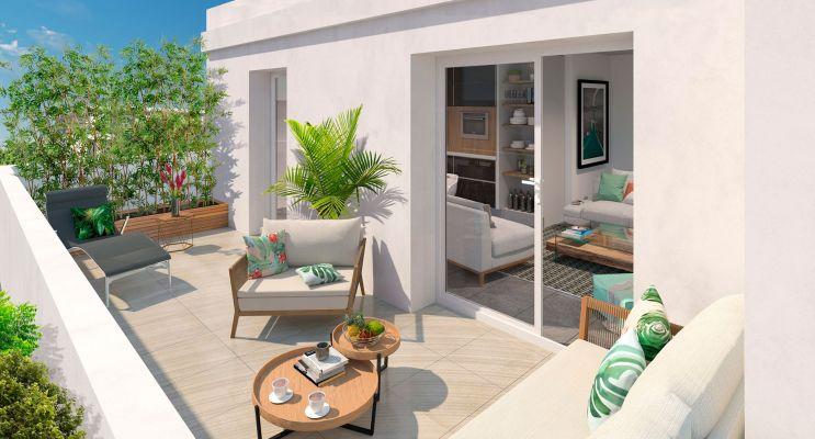 Photo du Résidence « Khoros » programme immobilier neuf en Loi Pinel à Montpellier
