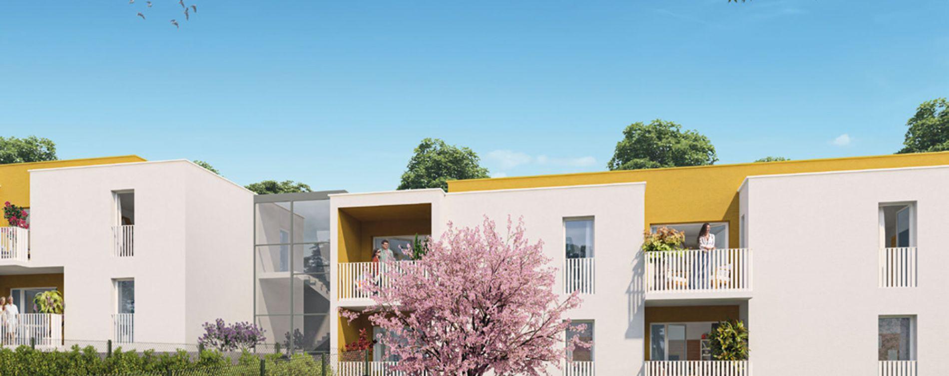 Montpellier : programme immobilier neuve « Le Domaine de Bellefeuille » en Loi Pinel