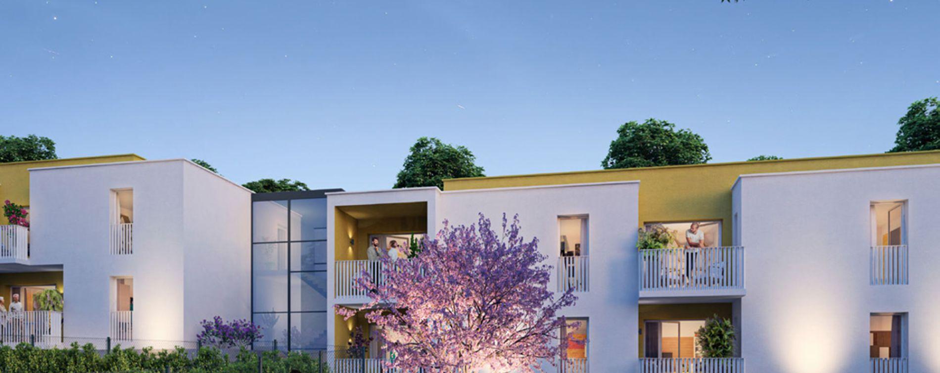 Montpellier : programme immobilier neuve « Le Domaine de Bellefeuille » en Loi Pinel (2)