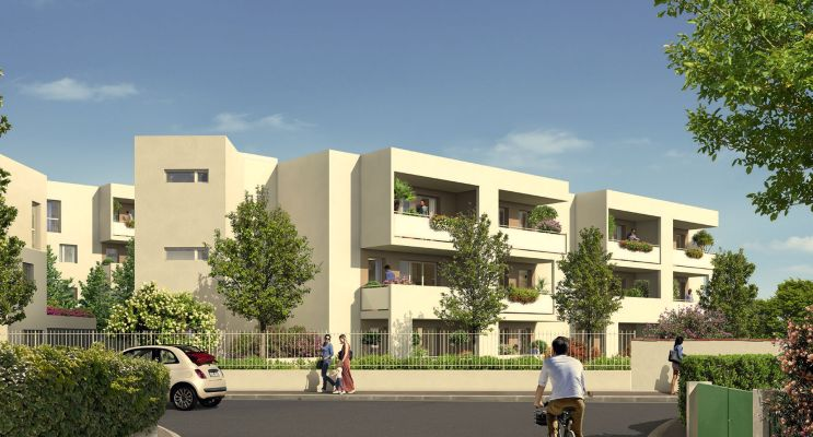 Photo du Résidence « Le Narval » programme immobilier neuf en Loi Pinel à Montpellier