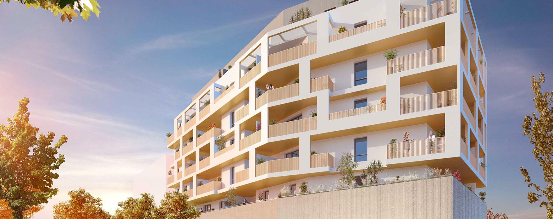 Montpellier : programme immobilier neuve « L'Edda » en Loi Pinel