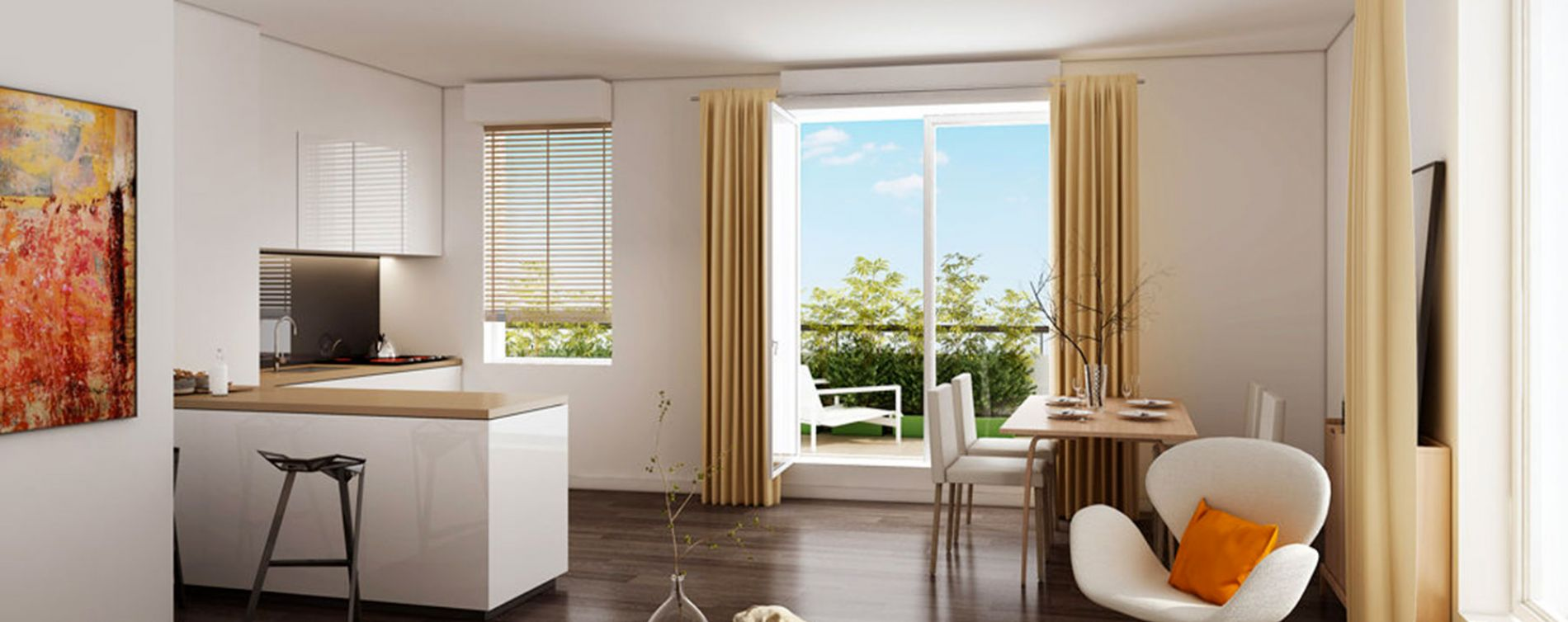 Montpellier : programme immobilier neuve « L'Edda » en Loi Pinel (3)