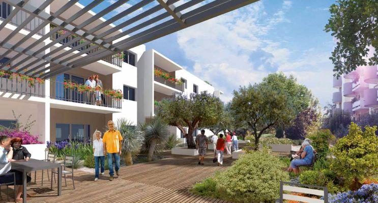 Photo n°1 du Résidence « Les Balcons De Montcalm » programme immobilier neuf à Montpellier