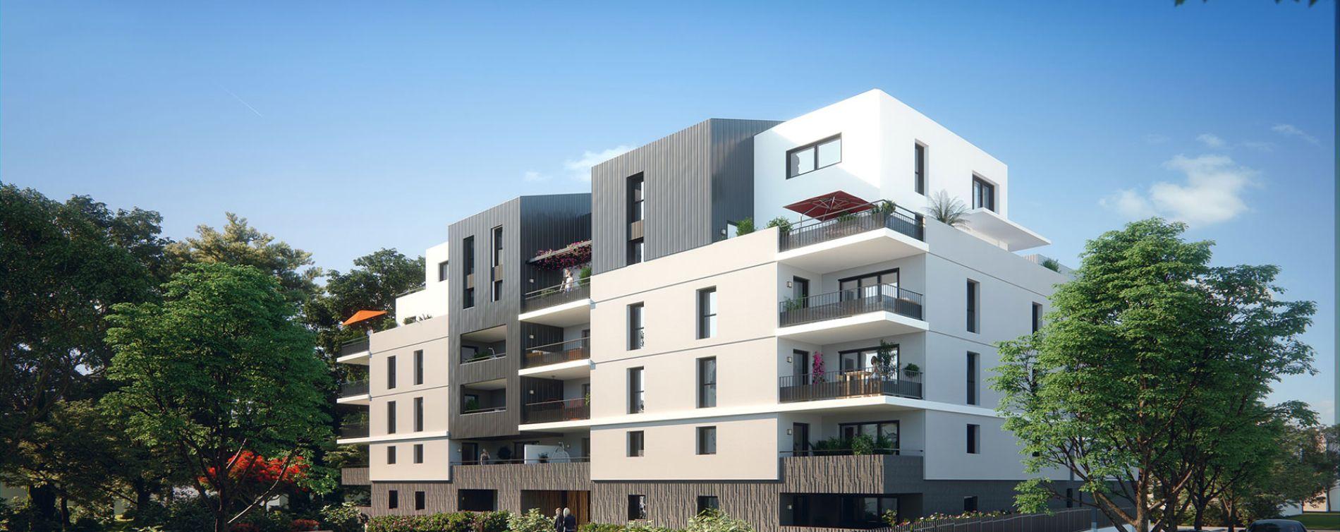 Montpellier : programme immobilier neuve « Les Demeures du Parc »