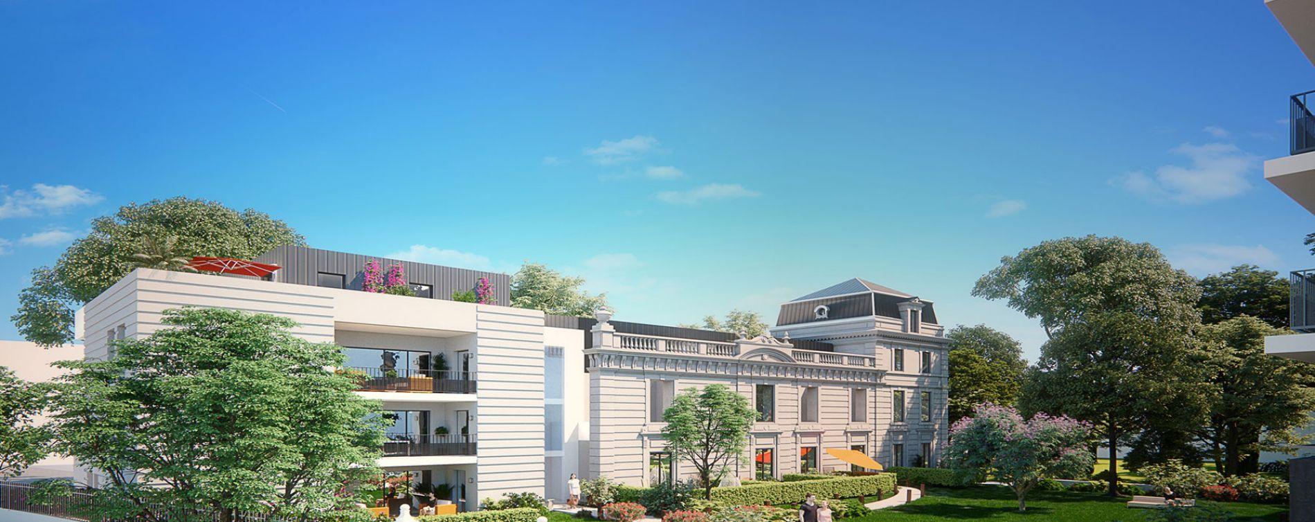 Montpellier : programme immobilier neuve « Les Demeures du Parc » (2)