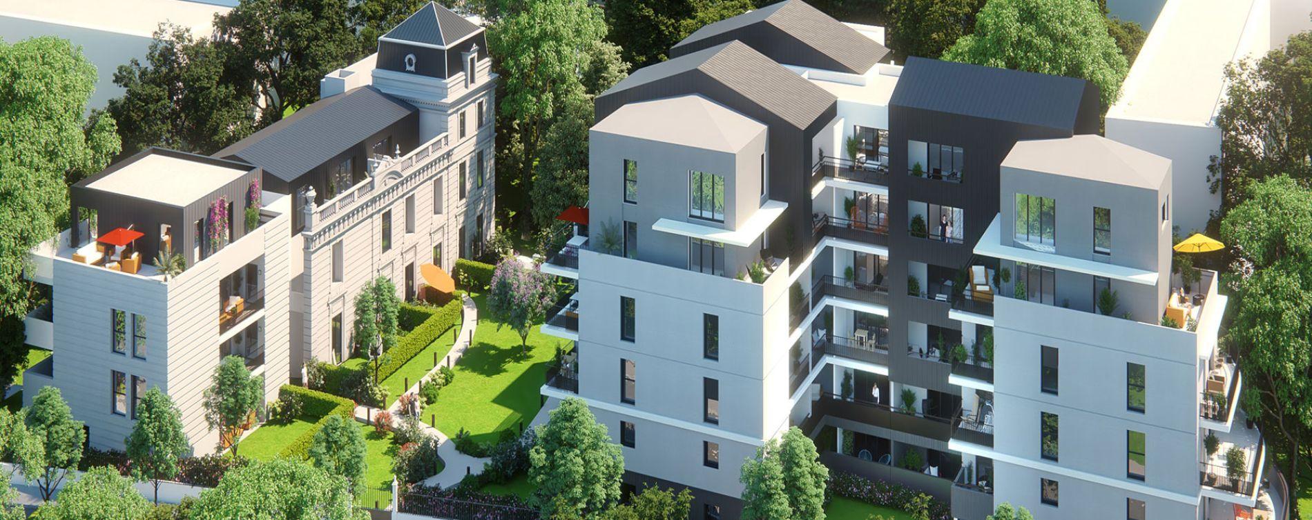 Montpellier : programme immobilier neuve « Les Demeures du Parc » (3)
