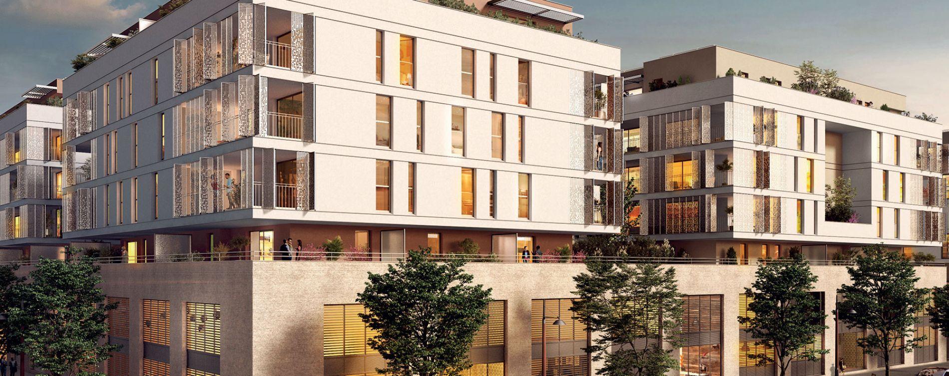 Montpellier : programme immobilier neuve « Les Temps Modernes » en Loi Pinel