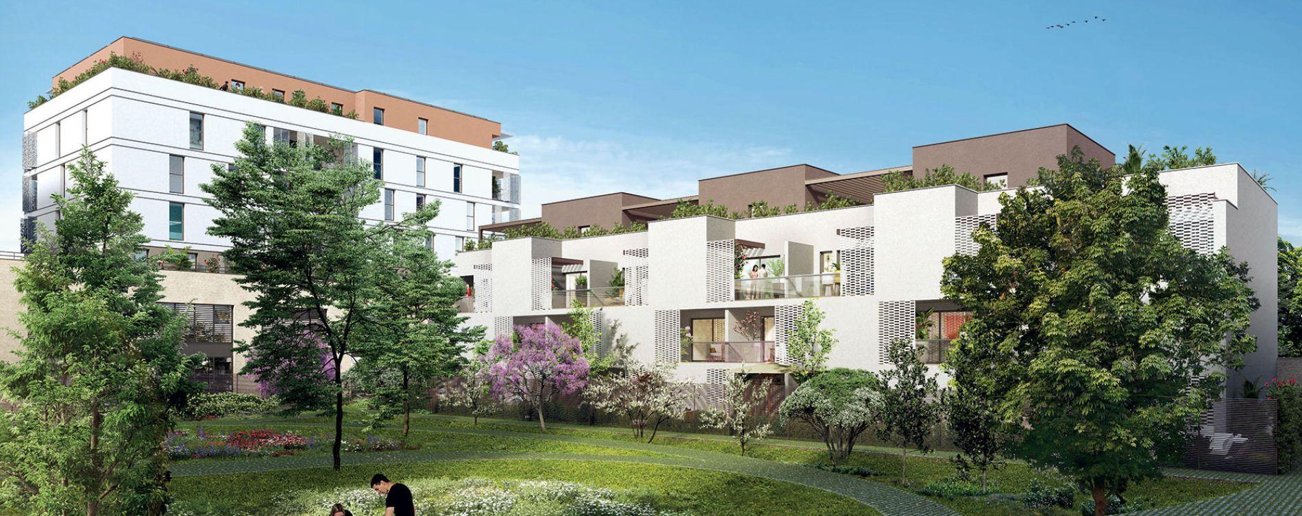 Montpellier : programme immobilier neuve « Les Temps Modernes » en Loi Pinel (2)