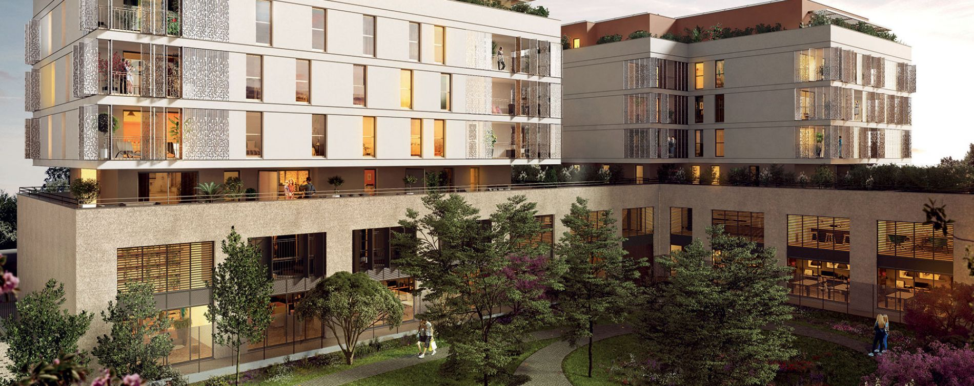 Montpellier : programme immobilier neuve « Les Temps Modernes » en Loi Pinel (3)