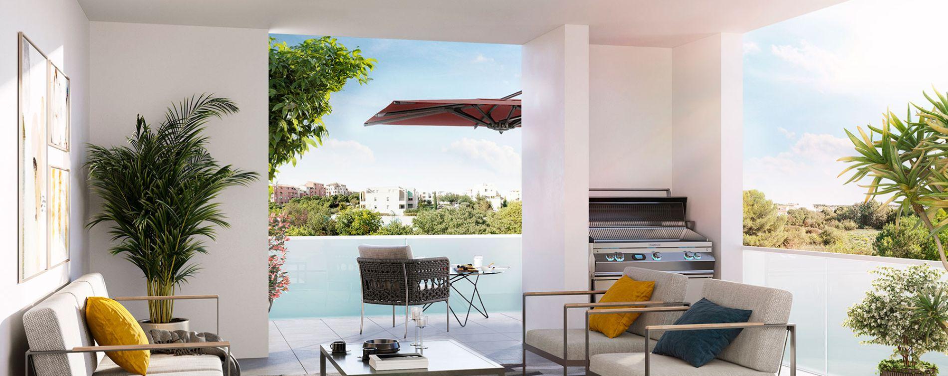 Montpellier : programme immobilier neuve « Liana » en Loi Pinel