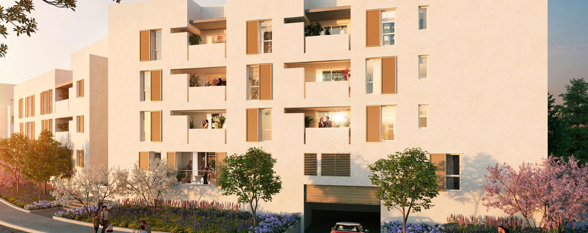 Montpellier : programme immobilier neuve « Liana » en Loi Pinel (4)
