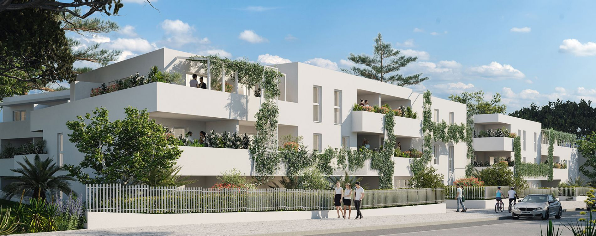 Montpellier : programme immobilier neuve « Lis&Léa » en Loi Pinel