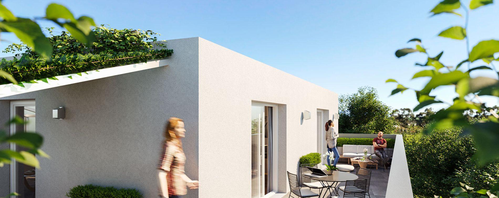 Montpellier : programme immobilier neuve « Lis&Léa » en Loi Pinel (3)