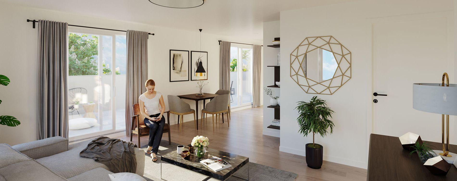 Montpellier : programme immobilier neuve « Lis&Léa » en Loi Pinel (4)