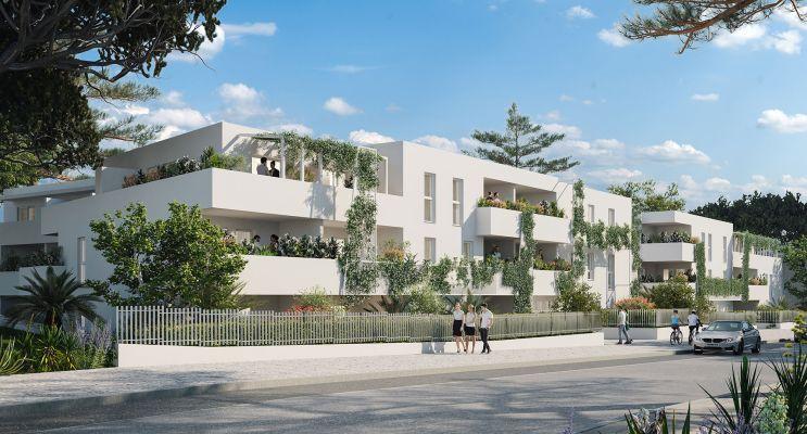Montpellier : programme immobilier neuf « Lis&Léa » en Loi Pinel