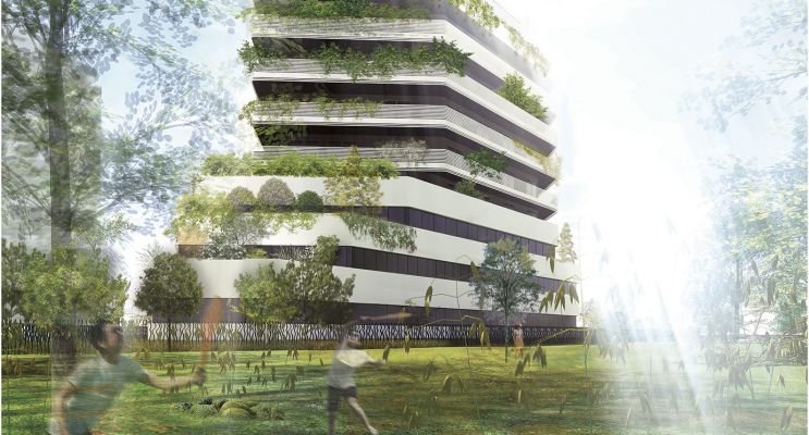 Résidence « Mithra » programme immobilier neuf en Loi Pinel à Montpellier n°2