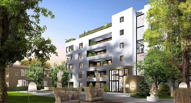 Résidence « Namasté » programme immobilier neuf en Loi Pinel à Montpellier n°2