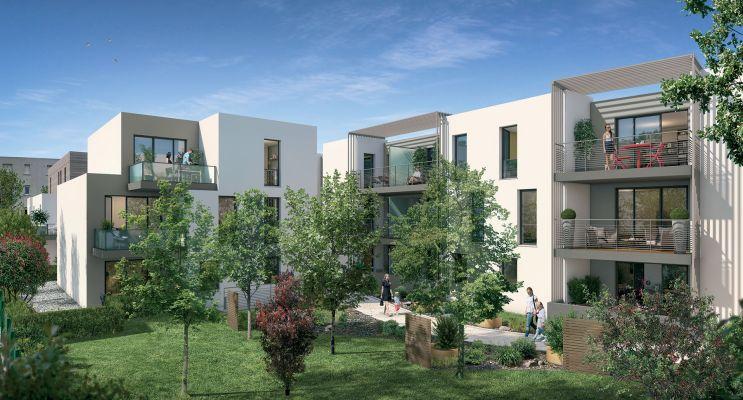 Photo du Résidence « Naturae » programme immobilier neuf en Loi Pinel à Montpellier