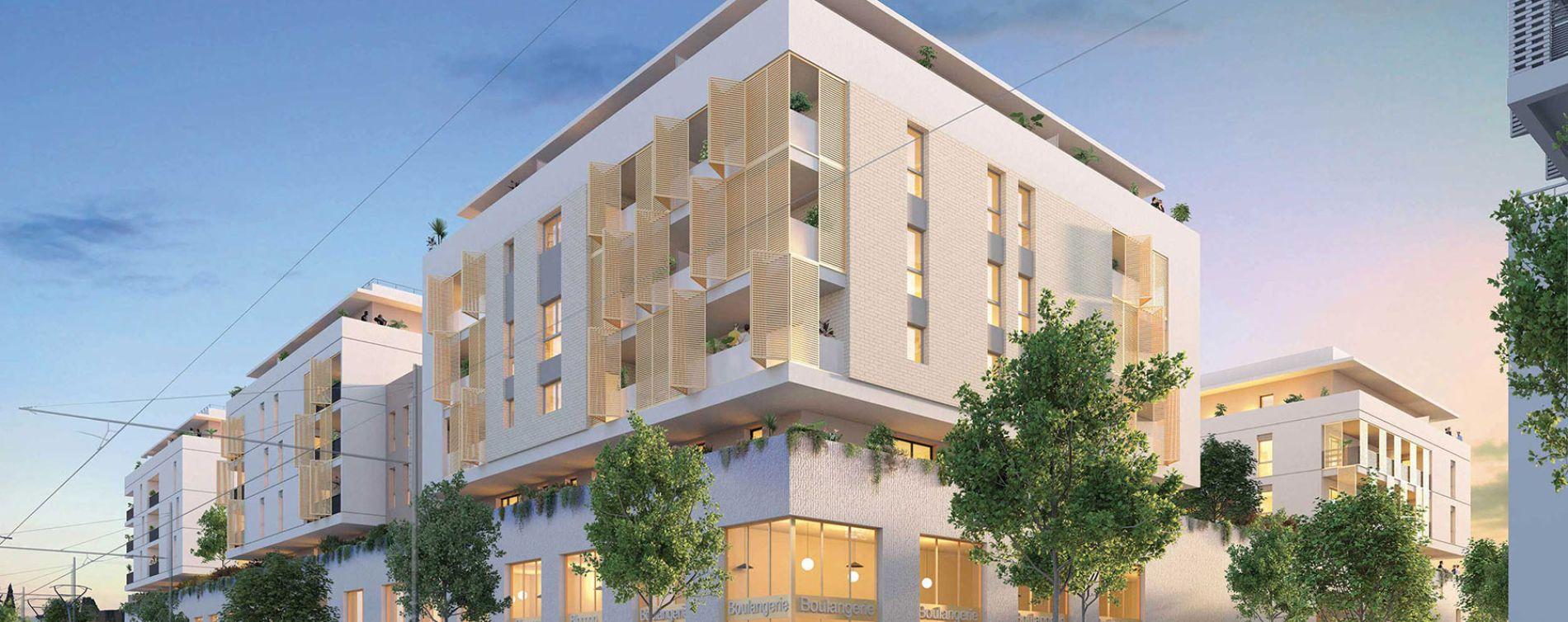 Montpellier : programme immobilier neuve « Nova Park » en Loi Pinel
