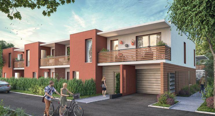Résidence « Ô Lez » programme immobilier neuf en Loi Pinel à Montpellier n°1