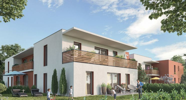 Résidence « Ô Lez » programme immobilier neuf en Loi Pinel à Montpellier n°2