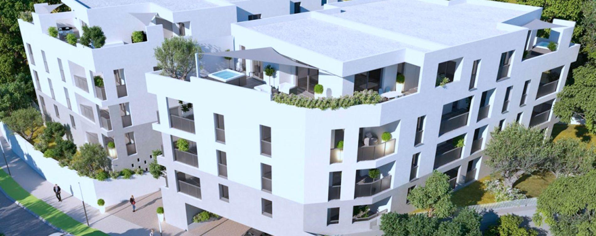 Montpellier : programme immobilier neuve « Oréa » en Loi Pinel
