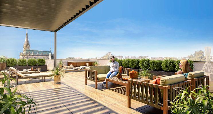 Résidence « Organza » programme immobilier neuf en Loi Pinel à Montpellier n°1