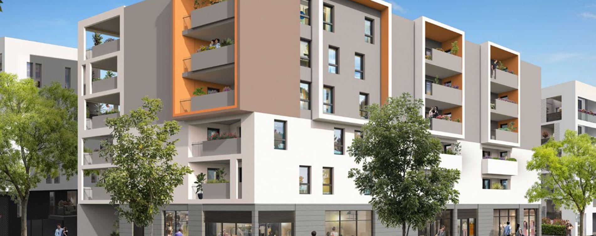 Montpellier : programme immobilier neuve « Pavillons des Arts » (2)