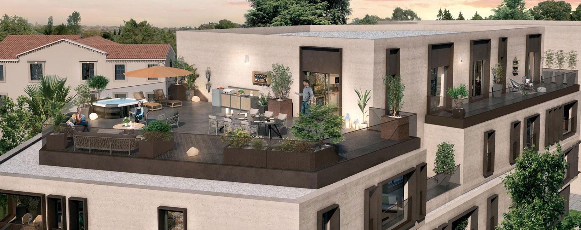 Montpellier : programme immobilier neuve « Promesse » en Loi Pinel (3)