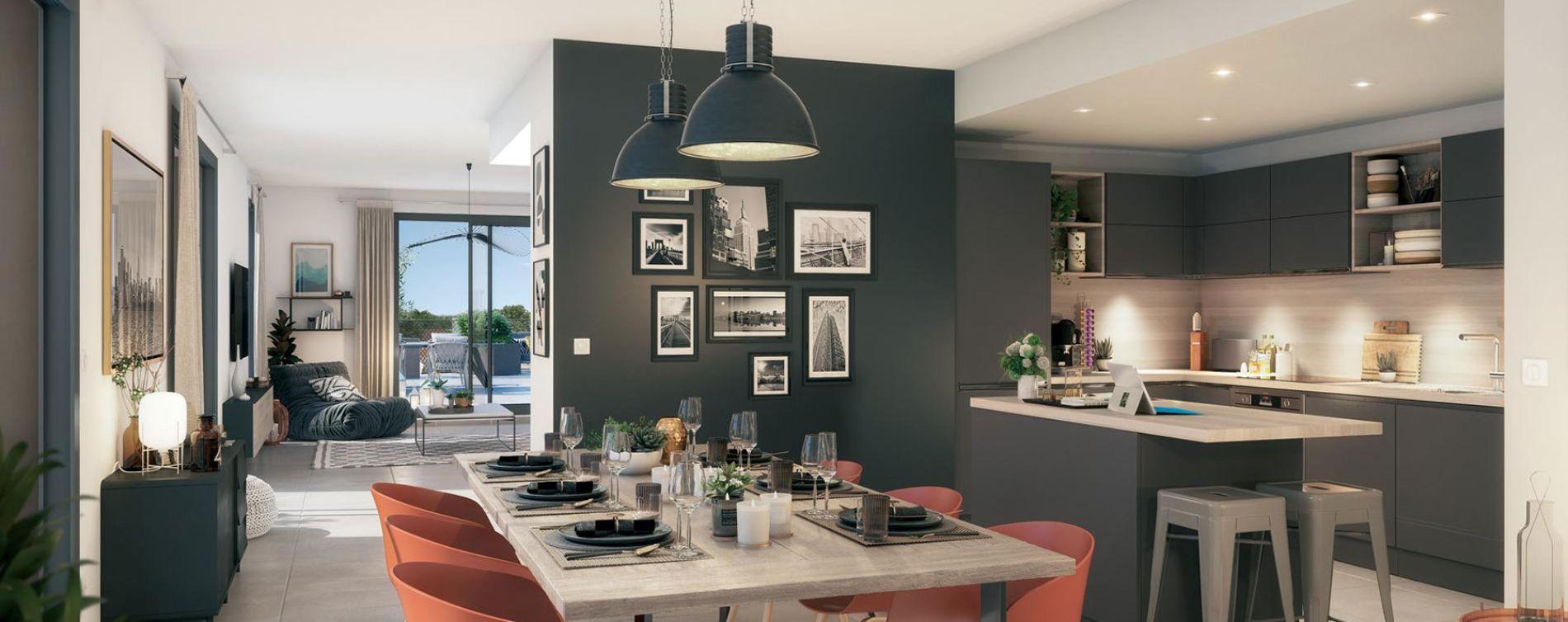 Montpellier : programme immobilier neuve « Promesse » en Loi Pinel (4)