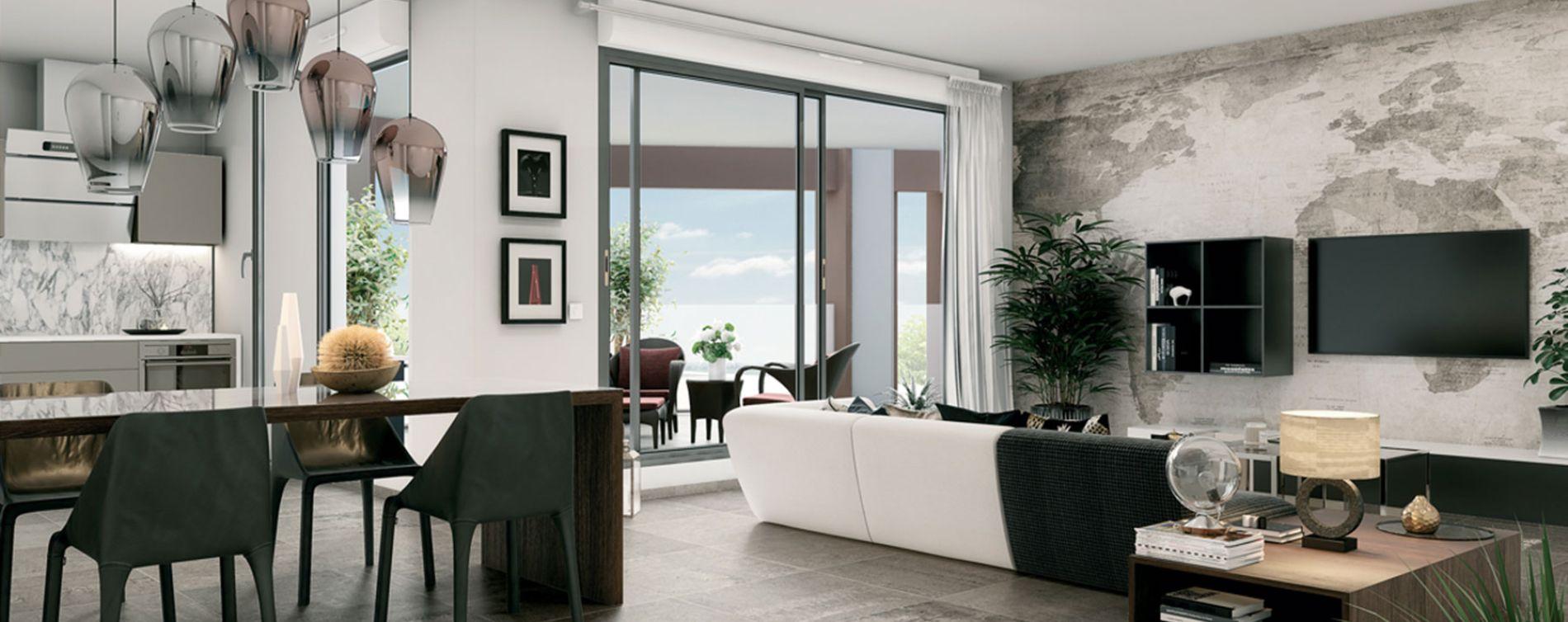 Montpellier : programme immobilier neuve « Promesse » en Loi Pinel (5)