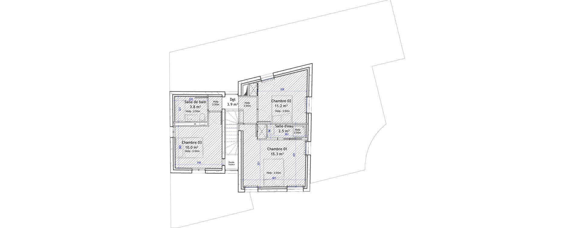 Maison T4 de 96,60 m2 à Montpellier Boutonnet