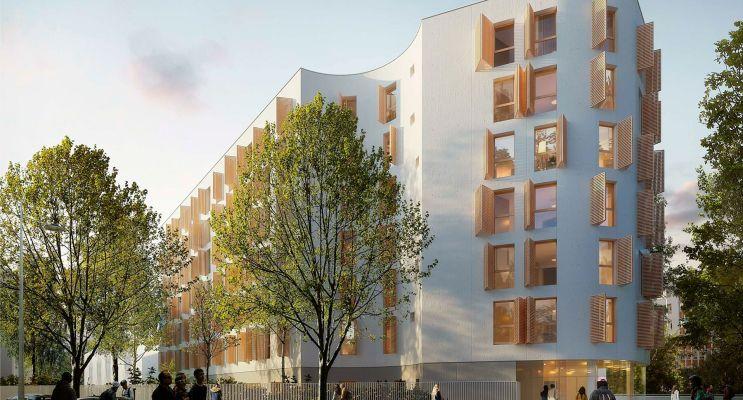 Photo du Résidence « Résidence Etudiante Créa » programme immobilier neuf à Montpellier