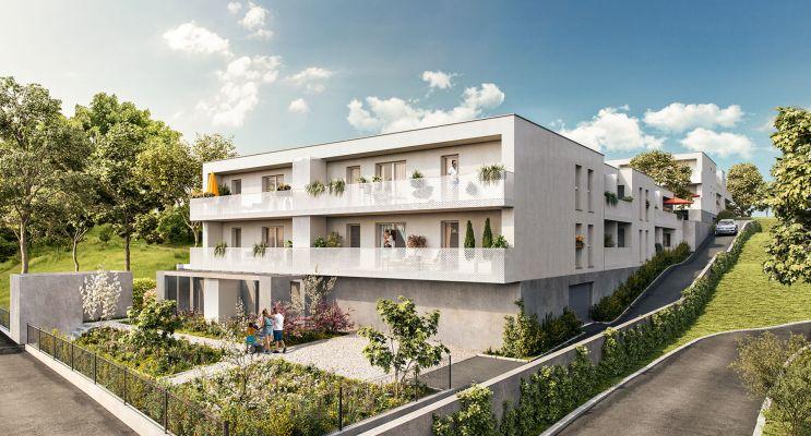 Photo du Résidence « Terrasses des Grèzes » programme immobilier neuf en Loi Pinel à Montpellier