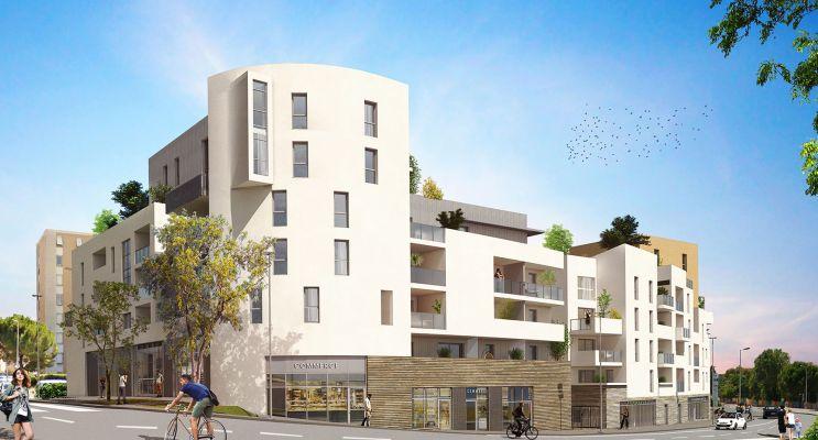 Montpellier : programme immobilier neuf « Urban Essence - Bât. A » en Loi Pinel