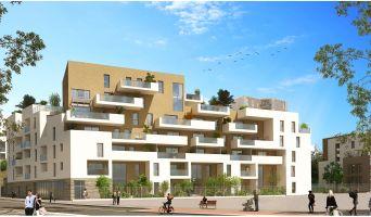 Montpellier : programme immobilier neuf « Urban Essence - Bât. B/C » en Loi Pinel