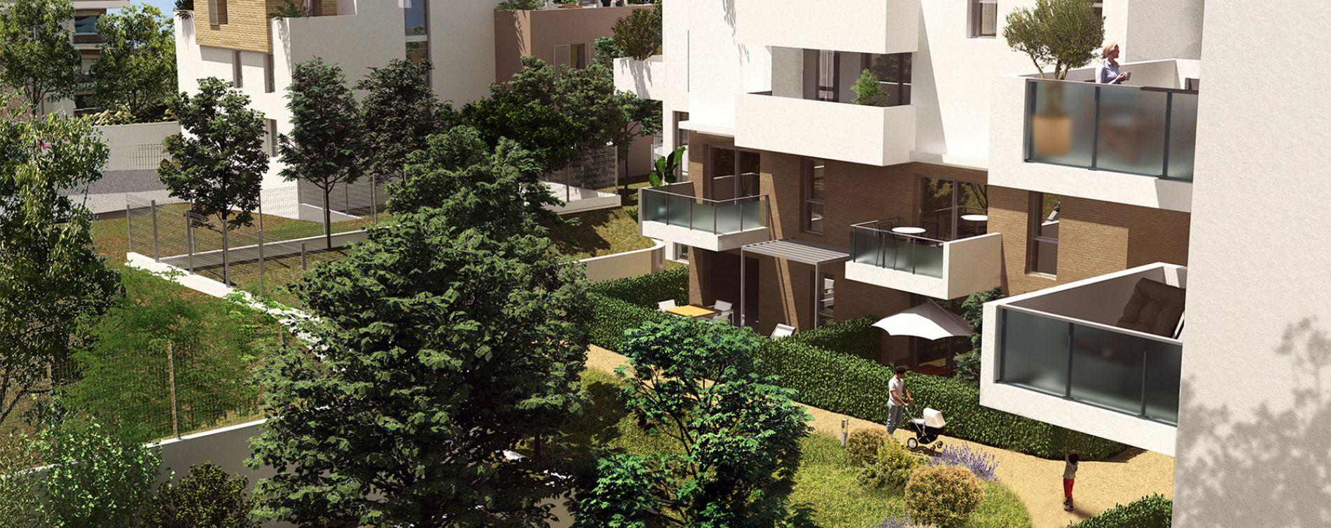 Montpellier : programme immobilier neuve « Urban Essence - Bât. D » en Loi Pinel (2)