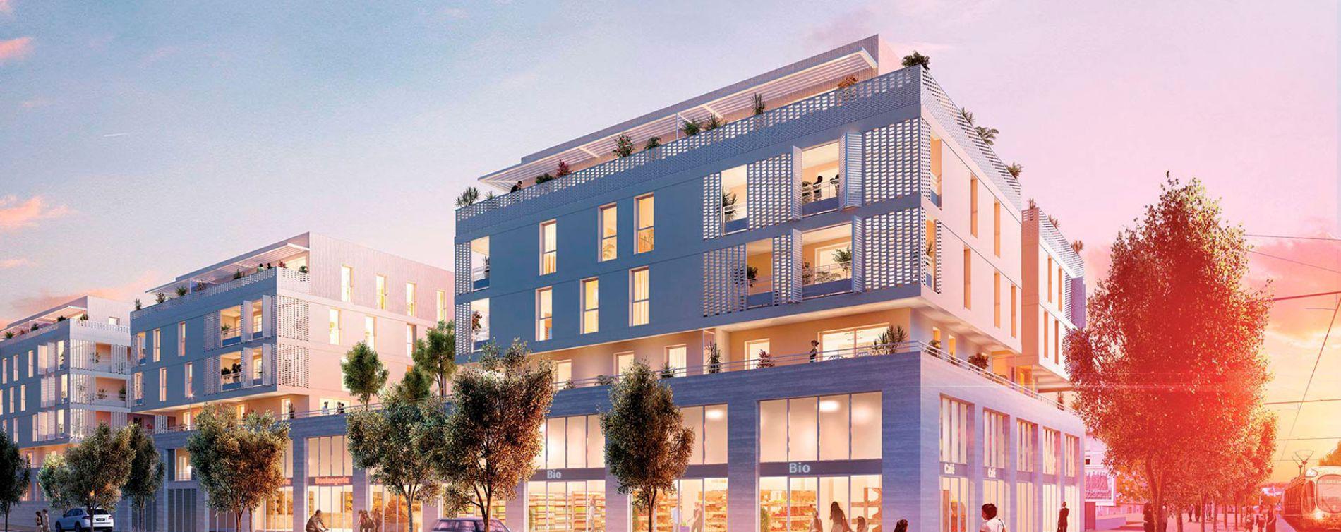Montpellier : programme immobilier neuve « Urban Nova »