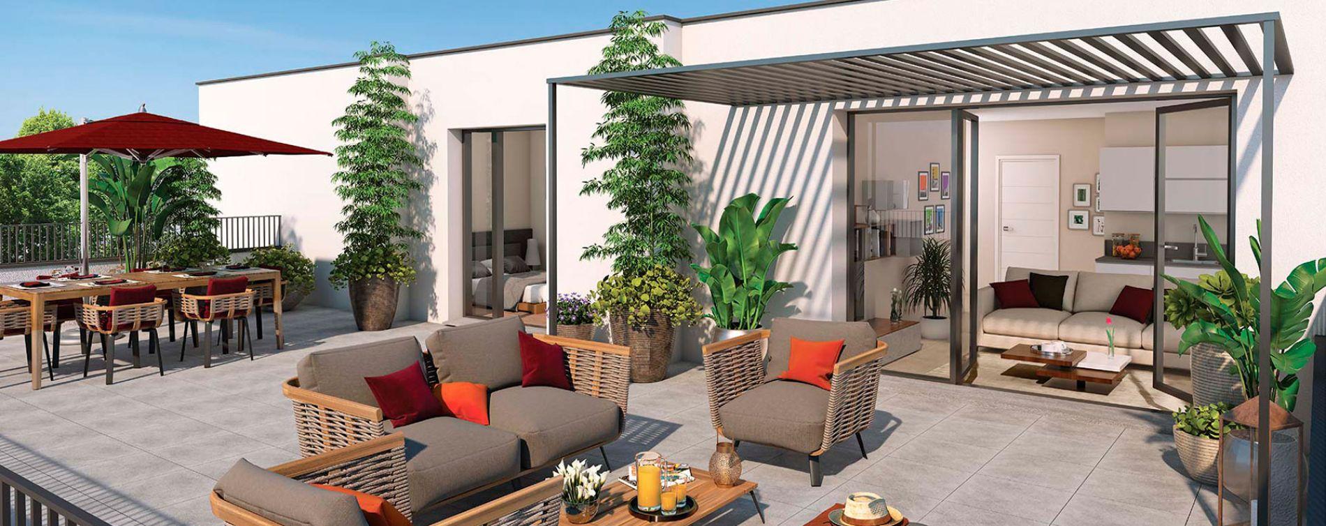 Montpellier : programme immobilier neuve « Urban Nova » (2)