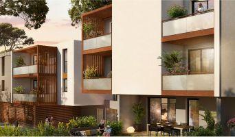 Résidence « Vert Domaine » programme immobilier neuf en Loi Pinel à Montpellier