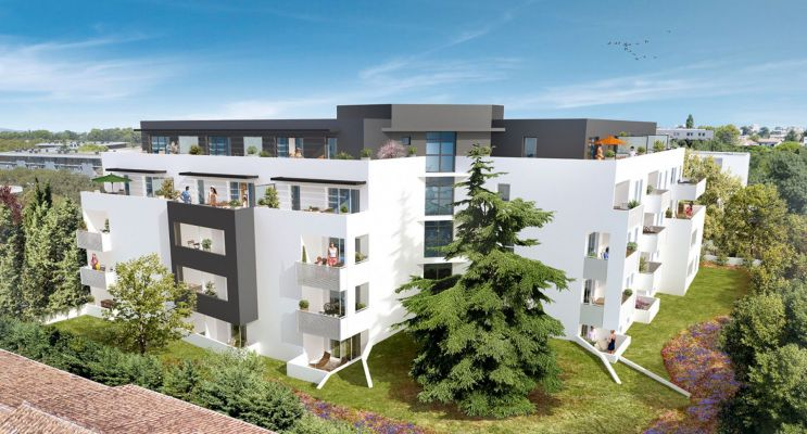 Résidence « Via Cedra » programme immobilier neuf en Loi Pinel à Montpellier n°1