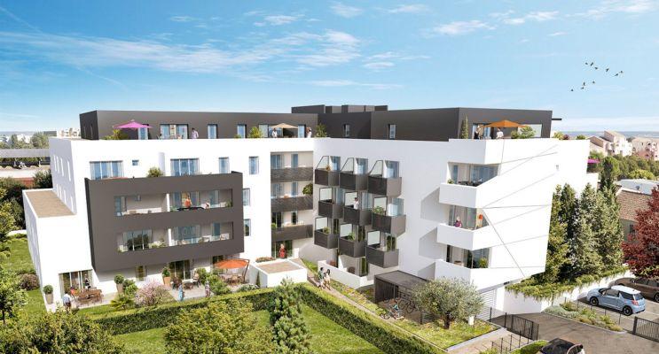 Résidence « Via Cedra » programme immobilier neuf en Loi Pinel à Montpellier n°2