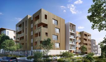 Montpellier programme immobilier neuf « Villa d'Ô