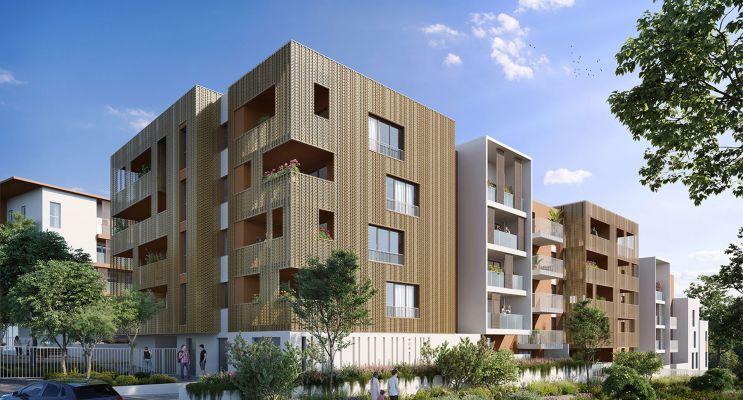 Montpellier : programme immobilier neuf « Villa d'Ô » en Loi Pinel
