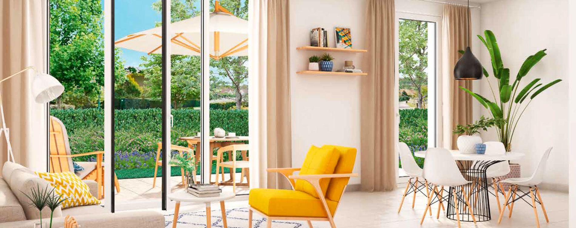 Saint-Jean-de-Védas : programme immobilier neuve « Côté Village » (2)